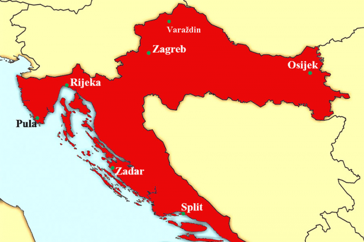 Hrvatska Mapa Nula49 Com